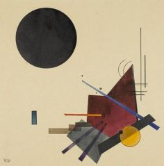 Black Relationship by Wassily Kandinsky