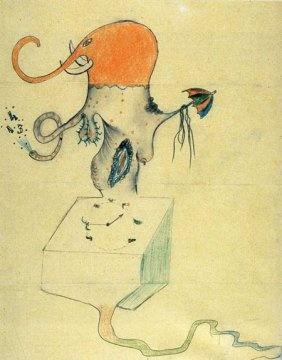 «Cadavre exquis» André Breton, Marcel Duhamel, Max Morise, Yves Tanguy 1926