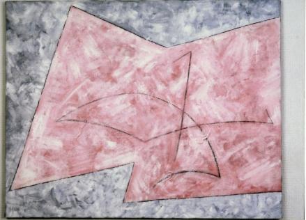 Giorgio Fidone » L'île du trident » 65x81cm coll. Musée de Bucarest