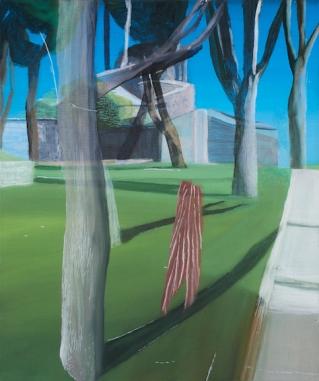 Marc Desgrandchamps, MD 1984, huile sur toile, 2015, 55 x 46 cm. Crédit photo : Galerie Zürcher.