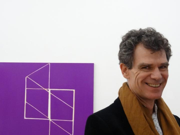 Portrait of Paul Pagk Photo. Jacques Halbert, courtesy Paul Pagk and galerie Eric Dupont, Paris