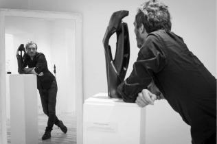 """Antoine VIDAL """"Mahomet, Jésus et les autres..."""" Sculpture bronze photo ©Muriel Rouget"""