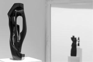 """Antoine VIDAL """"Mahomet, Jésus et les autres"""", Sculpture bronze, photo Muriel Rouget"""