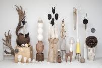 Théo MERCIER Back to Basics and Gender Studies 2015 vue d'atelier dimensions variables pièces uniques courtesy Galerie Bugada & Cargnel, Paris photo : Erwan Fichou