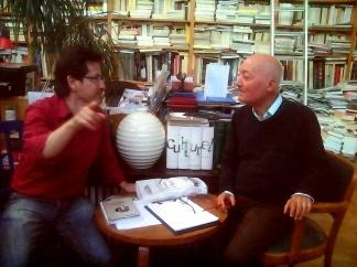 Giorgio Fidone et Michel Verjux pour Artoris Magazine