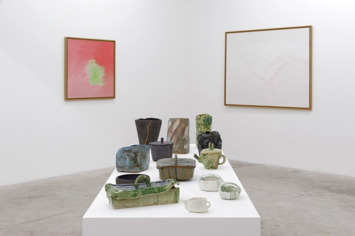 APR 21 | MAY 27 2017 - Simone Fattal PAINTINGS AND CERAMICS - Photo Balice et Hertling