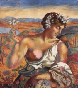 RENE PIOT (1869-1934)FloreFresque, Petites fentes visibles 123 x 83 cm https://bit.ly/2TGvlwu