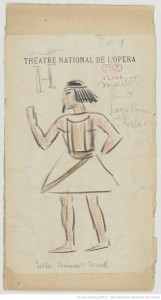 Esther princesse d'Israël : seize maquettes de costumes / par René Piot] Auteur : Piot, René (1866-1934). Dessinateur. 1925, Bibliothèque nationale de France, MUELLE-7 (ESTHER PRINCESSE D''ISRAEL). Source : https://bit.ly/2HnhHHQ