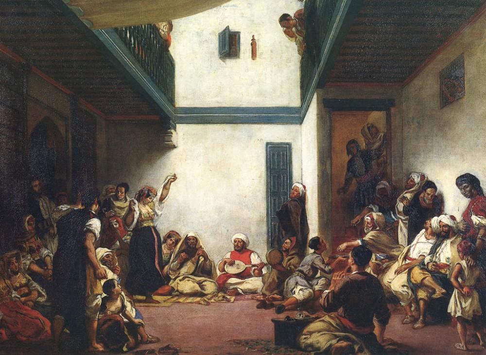 Eugène Delacroix - Noces juives au Maroc