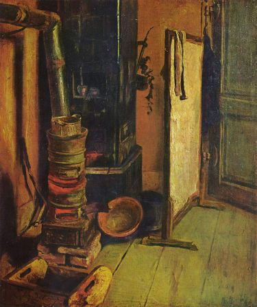 A corner of the studio 1830 - Delacroix