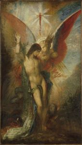 Gustave_Moreau - Saint-Sébastien et l'ange, 1876