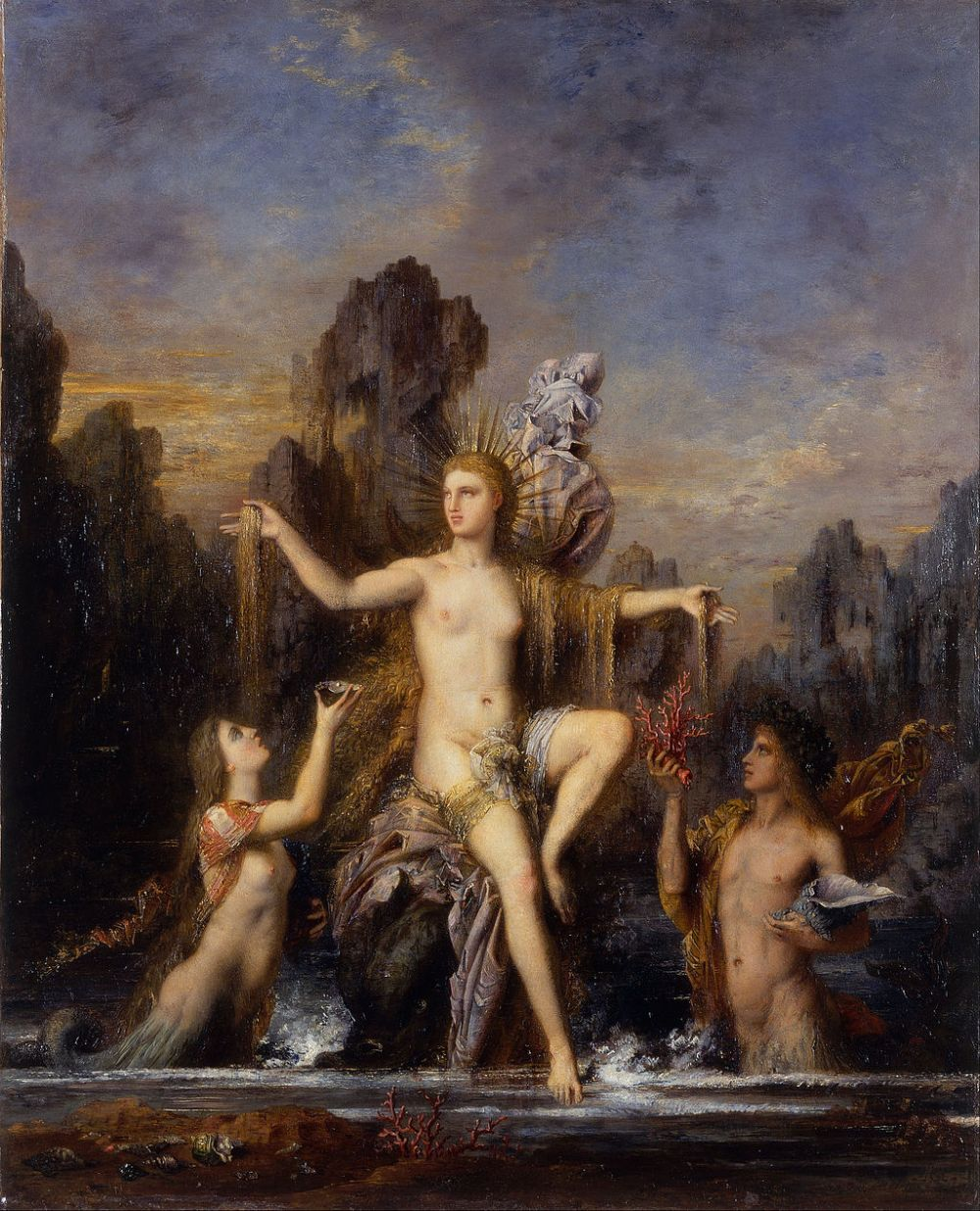 Gustave_Moreau_-_Venus_Rising_from_the_Sea_-_Google_Art_Project