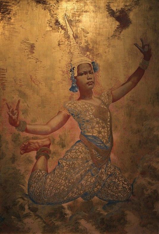 Musée_du_quai_Branly_Peintures_des_lointains_René_Piot_Danseuse_cambodgienne_03012019_6364