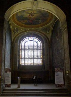 Église Saint-Sulpice - Paris VI Chapelle des Saints-Anges, décorée par Eugène Delacroix Source : commons.wikimedia.org