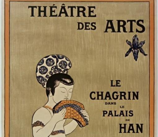 Le chagrin dans le Palais de Han : décors et costumes de René Piot