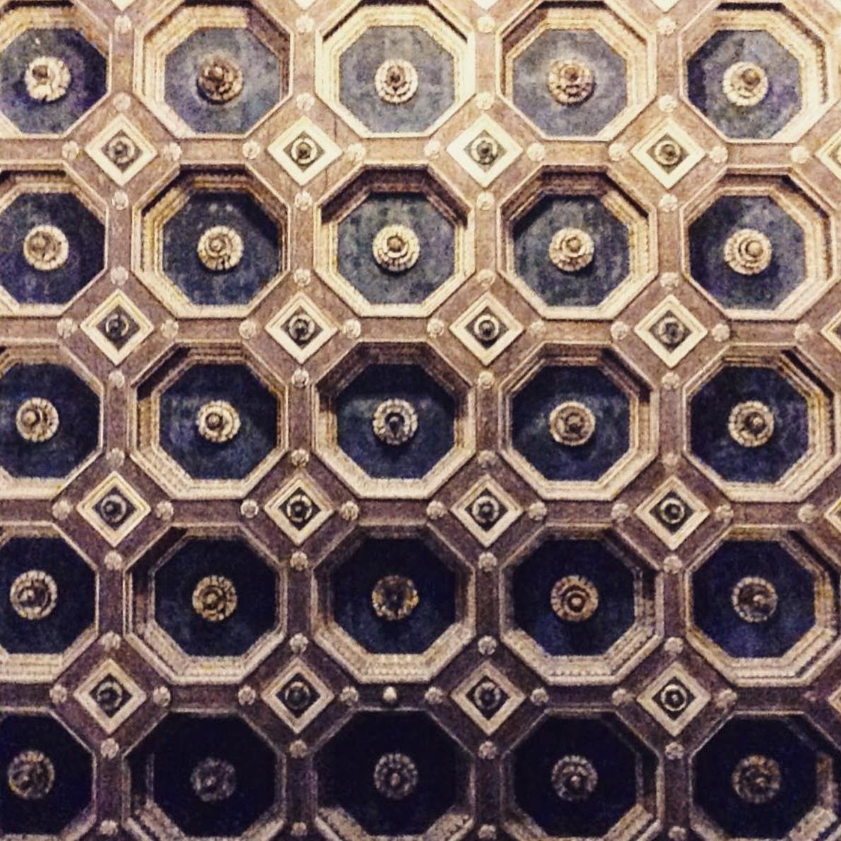 Détail d'un plafond, Musée Jacquemart-André. Photo Artoris Magazine